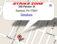 Strike Zone directions